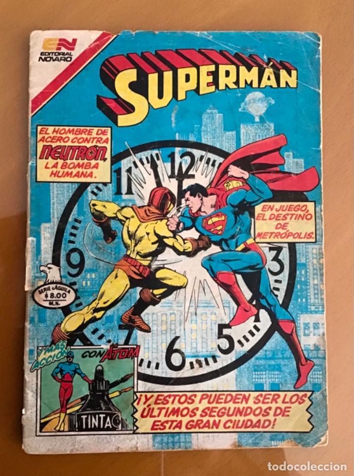 SUPERMAN - Nº 2 - 1388. NOVARO - SERIE AGUILA, 1982 (Tebeos y Comics - Novaro - Superman)