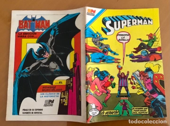 Tebeos: SUPERMAN - nº 2 - 1419. NOVARO - SERIE AGUILA, 1983 - Foto 2 - 267129999