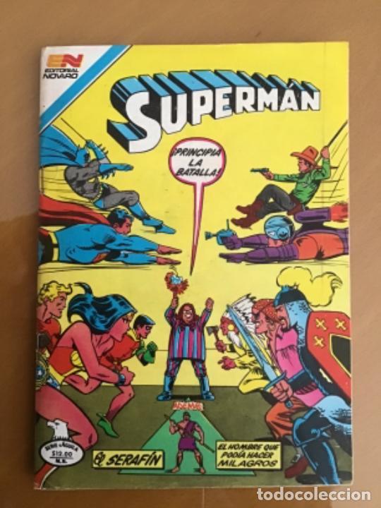 SUPERMAN - Nº 2 - 1419. NOVARO - SERIE AGUILA, 1983 (Tebeos y Comics - Novaro - Superman)