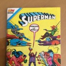Tebeos: SUPERMAN - Nº 2 - 1419. NOVARO - SERIE AGUILA, 1983. Lote 267129999