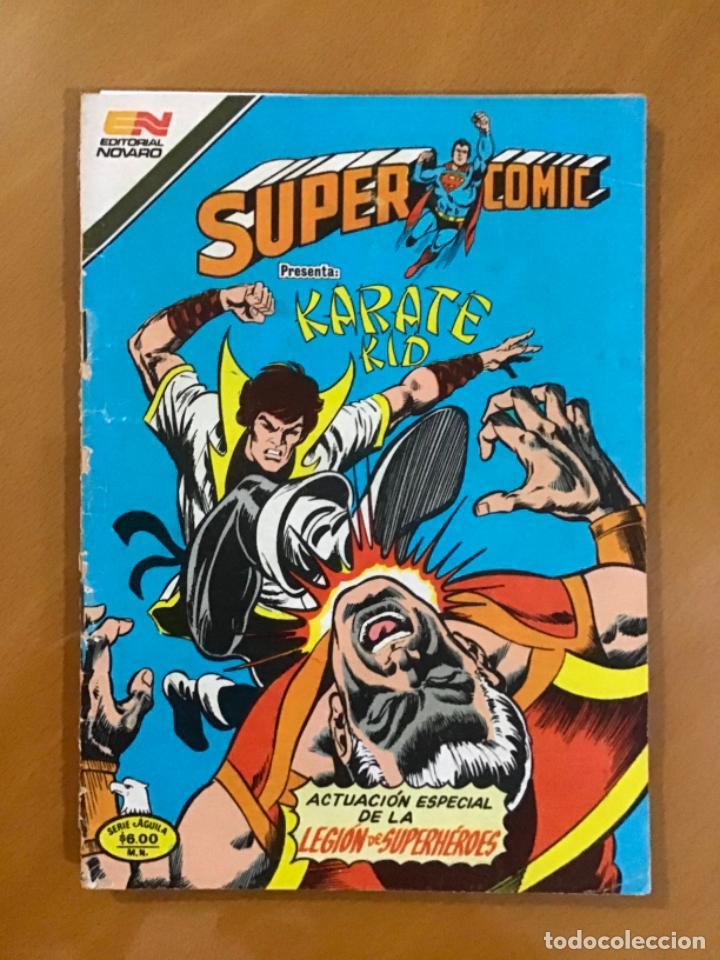 SUPERCOMIC - Nº 2 - 213. SUPERMAN. NOVARO - SERIE AGUILA, 1981 (Tebeos y Comics - Novaro - Superman)