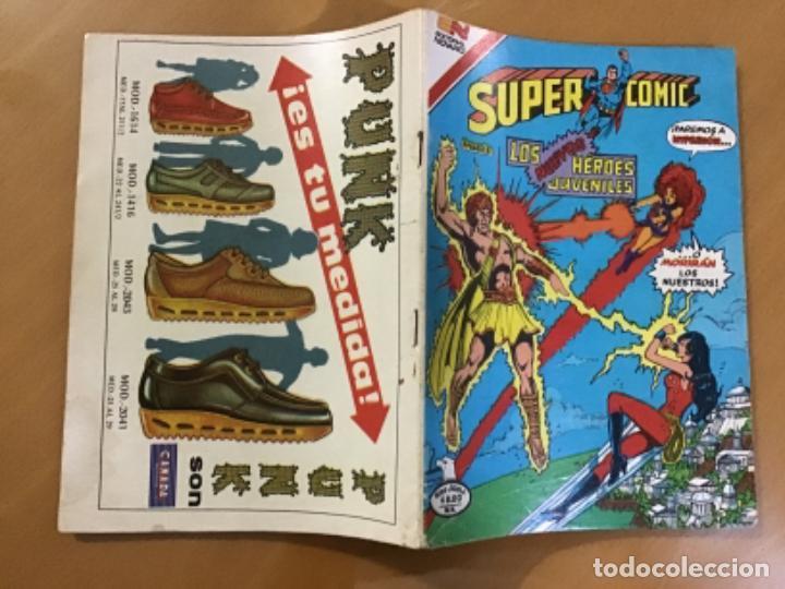 Tebeos: SUPERCOMIC - nº 2 - 263. SUPERMAN. NOVARO - SERIE AGUILA, 1982 - Foto 2 - 267139904