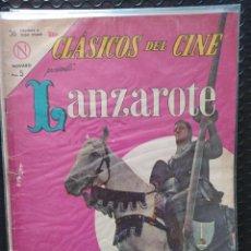 Tebeos: NOVARO MÉXICO-CLÁSICOS DEL CINE: LANZAROTE -VG-BOLSA & BACKBOARD. Lote 267188114