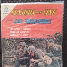 Tebeos: NOVARO MÉXICO-CLÁSICOS DEL CINE: LOS INVASORES -FN-BOLSA & BACKBOARD. Lote 267188369