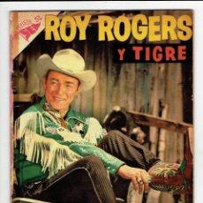 Tebeos: ROY ROGERS Nº 52 - NOVARO 1956. Lote 267477514