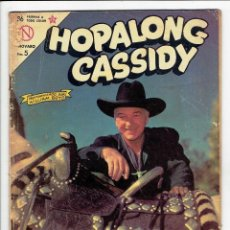 Tebeos: HOPALONG CASSIDY Nº 108 - NOVARO 1963. Lote 267484494