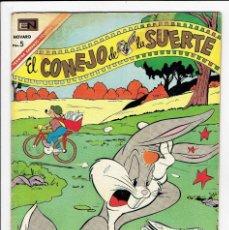 Tebeos: EL CONEJO DE LA SUERTE Nº 272 - NOVARO 1967. Lote 267530884