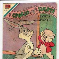Tebeos: EL CONEJO DE LA SUERTE Nº 334 - NOVARO 1970. Lote 267531139