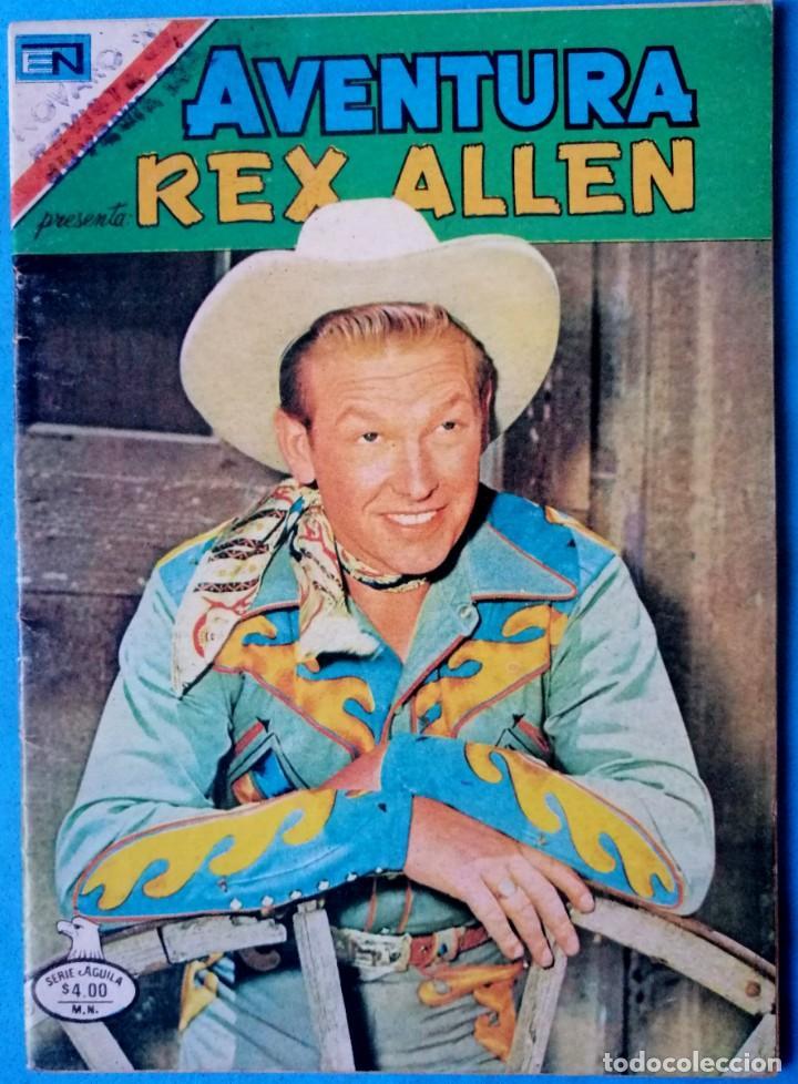 AVENTURA REX ALLEN Nº 927 - SERIE AGUILA - NOVARO 1979 (Tebeos y Comics - Novaro - Aventura)