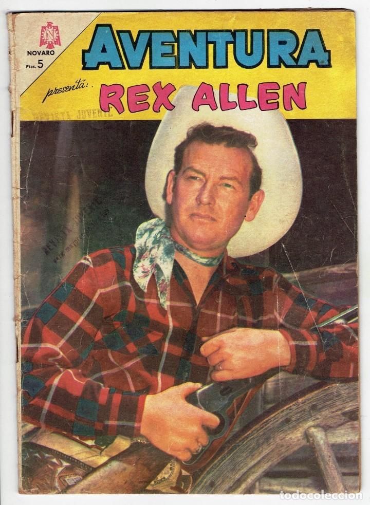 AVENTURA - REX ALLEN Nº 421 - NOVARO 1966 (Tebeos y Comics - Novaro - Aventura)