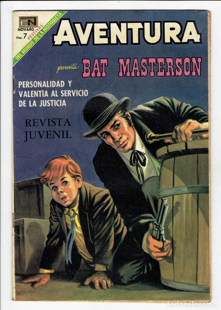 AVENTURA Nº 591 - BAT MASTERSON - NOVARO 1969 ''MUY BIEN CONSERVADO'' 01 - 9,50€ (Tebeos y Comics - Novaro - Aventura)