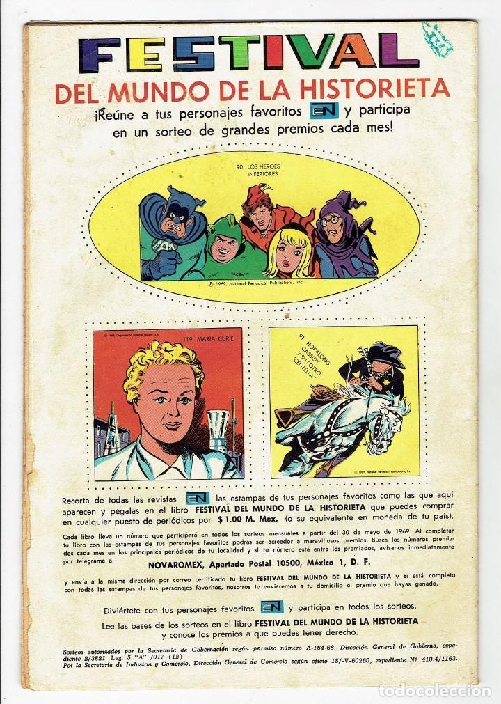 Tebeos: AVENTURA Nº 591 - BAT MASTERSON - NOVARO 1969 MUY BIEN CONSERVADO 01 - 9,50€ - Foto 2 - 267569529