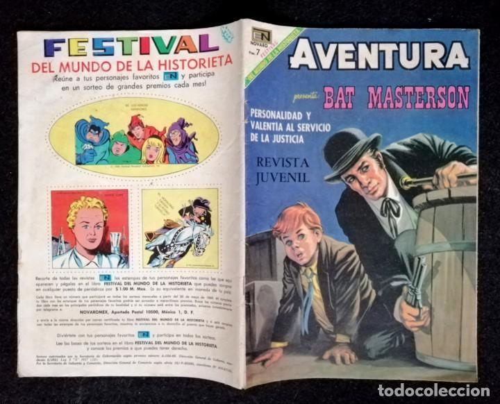 Tebeos: AVENTURA Nº 591 - BAT MASTERSON - NOVARO 1969 MUY BIEN CONSERVADO 01 - 9,50€ - Foto 3 - 267569529