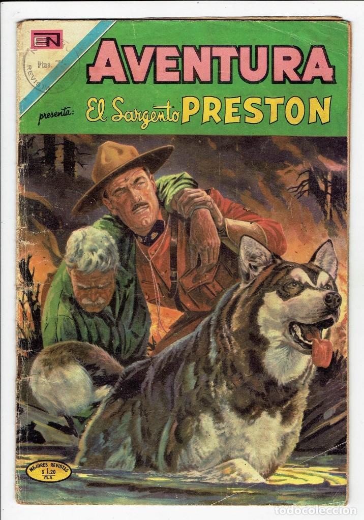 AVENTURA - EL SARGENTO PRESTON Nº 705 - NOVARO 1971 (Tebeos y Comics - Novaro - Aventura)
