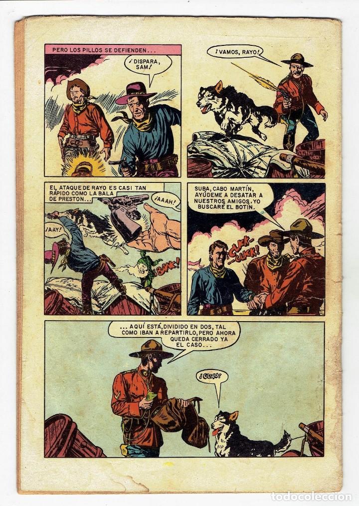 Tebeos: AVENTURA - EL SARGENTO PRESTON Nº 705 - NOVARO 1971 - Foto 2 - 267570584