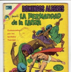 Tebeos: DOMINGOS ALEGRES Nº 972 - LA HERMANDAD DE LA LANZA - NOVARO 1972. Lote 267640099