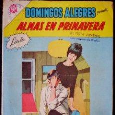 Tebeos: DOMINGOS ALEGRES Nº 634 - ALMAS DE PRIMAVERA - NOVARO 1966. Lote 267640684
