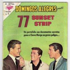 Tebeos: DOMINGOS ALEGRES Nº 490 - NOVARO 1963. Lote 267650384