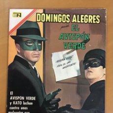 Livros de Banda Desenhada: DOMINGOS ALEGRES, Nº 706. POPULARES - 1967. EL AVISPON VERDE. Lote 267750284