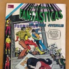 Tebeos: HISTORIAS FANTASTICAS - Nº 278. NOVARO - 1971. LOS HEROES JUVENILES.. Lote 267751239