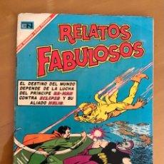 Tebeos: RELATOS FABULOSOS - Nº 93. NOVARO - 1967.. Lote 267837909