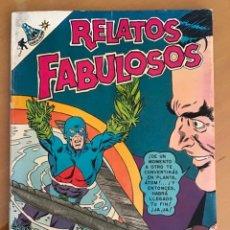 Livros de Banda Desenhada: RELATOS FABULOSOS - Nº 106. NOVARO - 1968.. Lote 267849099