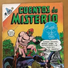 Tebeos: CUENTOS DE MISTERIO - Nº 130. NOVARO - 1968.. Lote 267849854