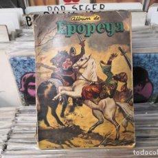 Tebeos: ALBUM DE EPOPEYA, CON 5 TEBEOS,NOVARO,64. Lote 268130214