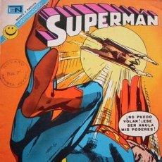 Tebeos: SUPERMAN-NOVARO- Nº 865 -CÓMO DOMINAR UN VOLCÁN-1972-CURT SWAN-MURPHY ANDERSON-DIFÍCIL-LEAN-5010. Lote 268158914