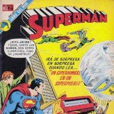 Tebeos: SUPERMAN-NOVARO- Nº 925 -UN SUPERHOMBRE EN UN SUPERPUEBLO-1973-JACK KIRBY-BUENO-DIFÍCIL-5011. Lote 268160709
