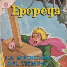 Tebeos: NOVARO - EPOPEYA Nº 77 - LA MEDICION DEL TIEMPO #. Lote 268838339