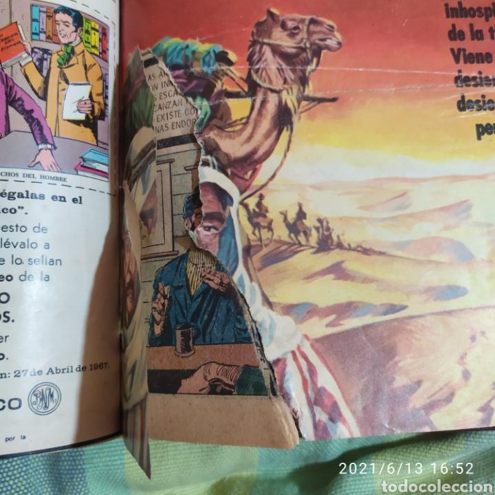 Tebeos: tomo encuadernado con 12 ejemplares epopeya novaro numeros variados - Foto 11 - 268955654