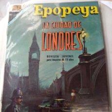 Tebeos: NOVARO EPOPEYA. Nº 116. LA CIUDAD DE LONDRES. Lote 269132588