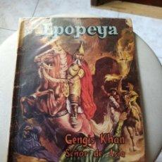 Tebeos: NOVARO - EPOPEYA N°23 - GENGIS KHAN. Lote 269133723