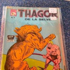 Tebeos: LA PRENSA THAGOR DE LA SELVA NUMERO 33 NORMAL ESTADO. Lote 269135478