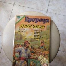 Tebeos: EPOPEYAS . BABILONIA. ED. NOVARO,. Lote 269135988