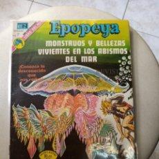 Tebeos: EPOPEYA NOVARO MONSTRUOS Y BELLEZAS VIVIENTES EN LOS ABISMO DEL MAR. Lote 269137843
