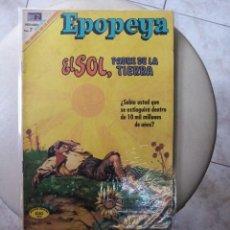 Tebeos: EPOPEYA : EL SOL, PADRE DE LA TIERRA, EDITORIAL NOVARO. Lote 269138268