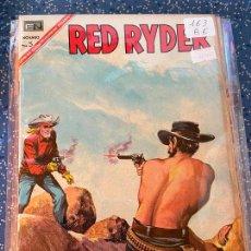 Tebeos: NOVARO RED RYDER NUMERO 163 BUEN ESTADO. Lote 269140903