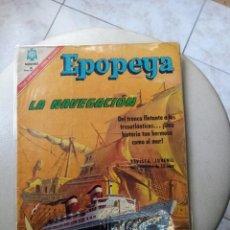 Tebeos: EPOPEYA.LA NAVEGACION. NOVARO. Lote 269141988