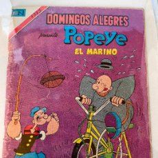 Livros de Banda Desenhada: NOVARO DOMINGOS ALEGRES SERIE AGUILA NUMERO 1325 NORMAL ESTADO. Lote 269143118