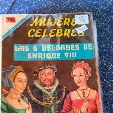 Livros de Banda Desenhada: NOVARO MUJERES CELEBRES NUMERO 126 BUEN ESTADO. Lote 269151768