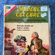 Tebeos: NOVARO MUJERES CELEBRES NUMERO 118 BUEN ESTADO. Lote 269151878