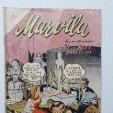 Tebeos: MARVILA Nº 32 (RARO EJEMPLAR) - ORIGINAL EDITORIAL NOVARO. Lote 269212883