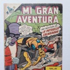 Tebeos: MI GRAN AVENTURA Nº 94 - LA PATRULLA SALVADORA - ORIGINAL EDITORIAL NOVARO. Lote 269215118