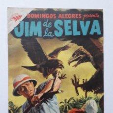 Tebeos: DOMINGOS ALEGRES Nº 186 - JIM DE LA SELVA! - ORIGINAL EDITORIAL NOVARO. Lote 269378518