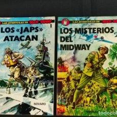 Tebeos: LAS AVENTURAS DE BUCK DANNY - LOS JAPS ATACAN Y LOS MISTERIOS DE MIDWAY - - Nº 1 Y Nº 2 - NOVARO -. Lote 269588883