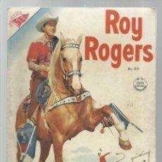 Tebeos: ROY ROGERS 25, 1954, NOVARO, MUY BUEN ESTADO. Lote 269762568