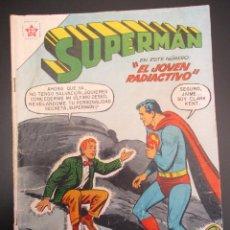 Tebeos: SUPERMAN (1952, ER / NOVARO) 123 · 1-V-1958 · SUPERMÁN. Lote 269785883