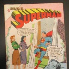 Tebeos: SUPERMAN (1952, ER / NOVARO) 68 · 15-I-1956 · SUPERMÁN. Lote 269786388